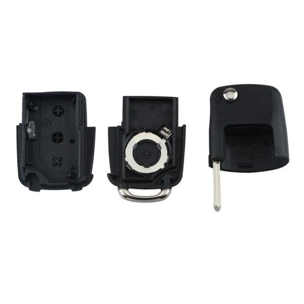 Coque-Clé-télécommande-3-Boutons-Volkswagen-Golf-Passat-Polo