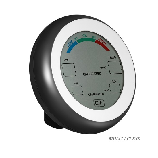 Thermomètre Hygromètre Digital LCD Température intérieure MULTI ACCESS 3