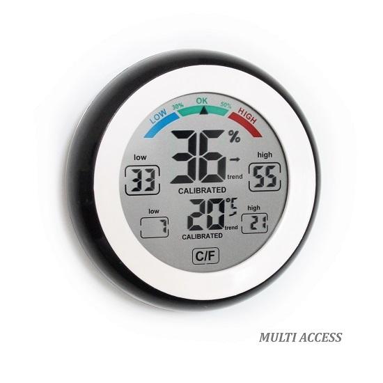 Thermomètre Hygromètre Digital LCD Température intérieure MULTI ACCESS