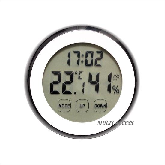 Thermomètre Hygromètre Digital LCD Tactile Température Humidité multi-access.fr 2