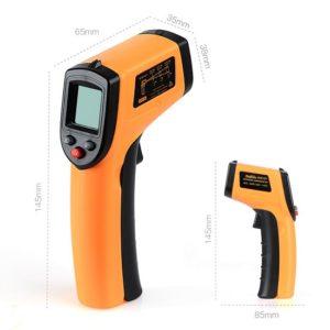 Thermomètre Infrarouge laser IR mesure température -50°C à 380°C