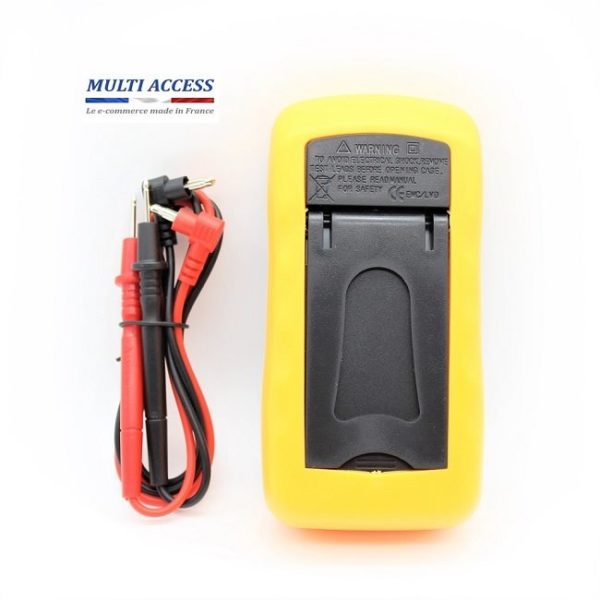 5 Multimètre Numérique Digital XL830L Voltmètre Testeur Electrique digital écran LCD 600V