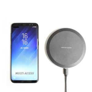 Chargeur sans fil Induction 5W Noir QI pour Iphone 8 10 X XS XR Samsung Galaxy S7 S8 S9 S10