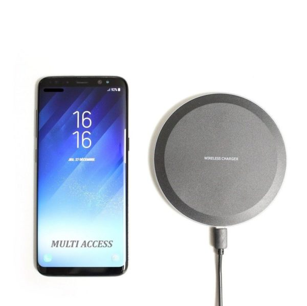 Chargeur sans fil Induction QI pour Iphone 8 X XS XR Galaxy S6 S7 S8 S8+ S9 S9+ MULTI ACCESS 3