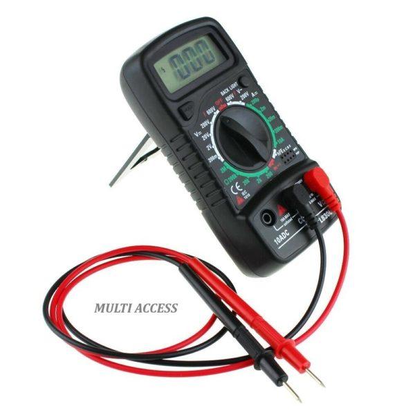 Multimètre Numérique Digital XL830L voltmètre ampèremètre ohmmètre- Multi-access.fr 2