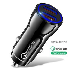Chargeur allume cigare rapide double USB 3.0 universel Chargeur voiture