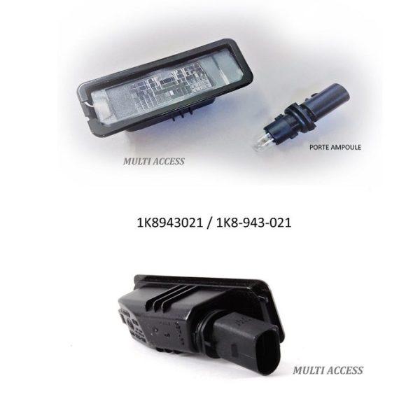 Caméra de recul adaptable VW Angle de vue 170°, Golf, Passat, Polo 4