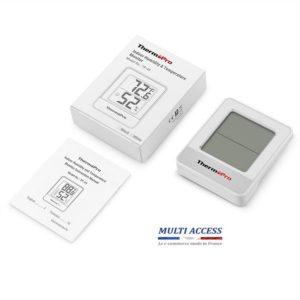 Petit Thermomètre Hygromètre Intérieur Numérique sans fil ThermoPro TP49